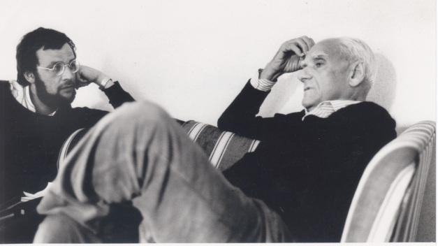 Avec Alberto Moravia à Venise