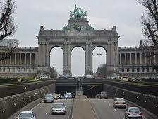 L'arcade du Cinquantenaire à Bruxelles